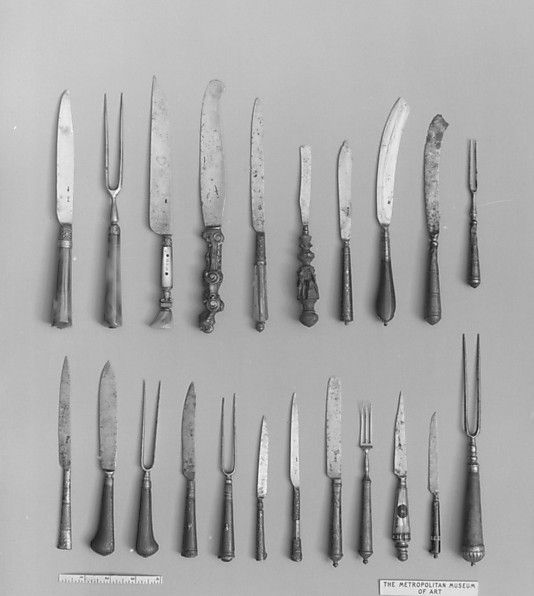 Table Knives; late 16th Century; Italy; MET