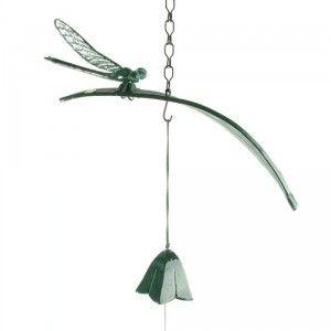 Carillon éolien Japonais en fonte libellule 2 pièces - Boutique-Japon