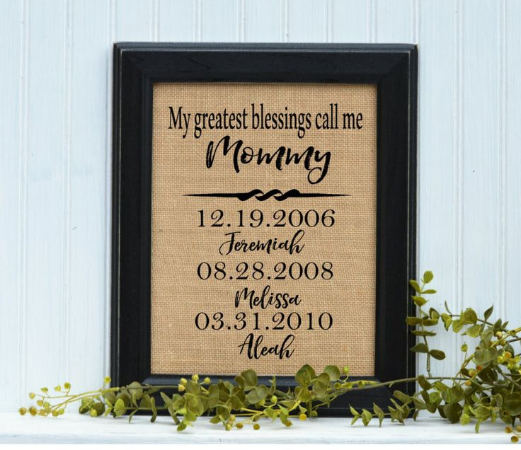Unique Christmas Gifts For Mom Part - 27: Mother Gift, FRAMED Burlap Print, Mom Gift, Gift Idea For Mom,Mom