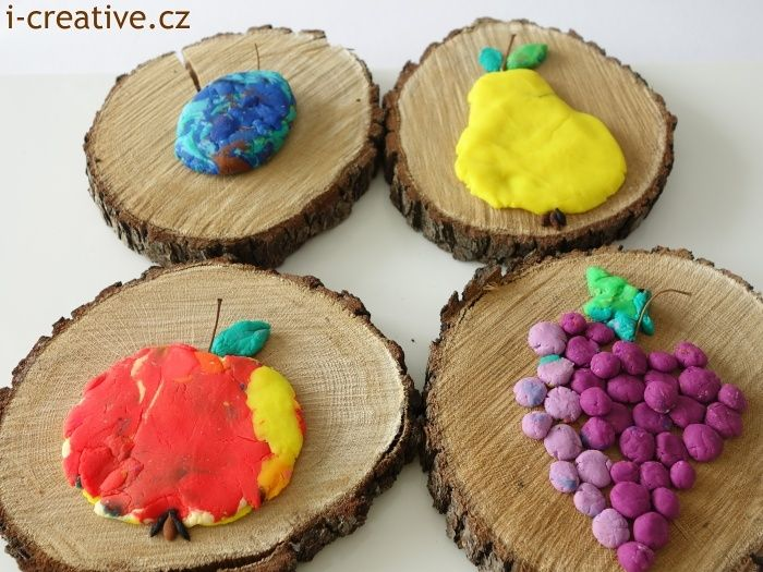 Play doh autumn ideas / Podzimní nápady s Play doh