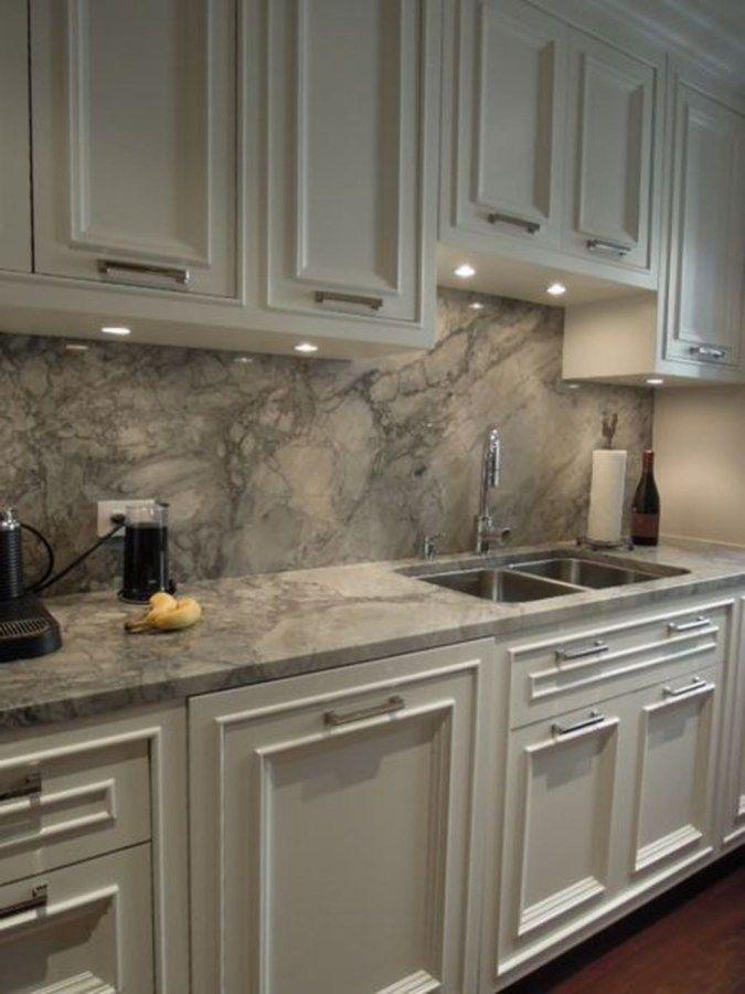 48 Stunning Quartz Backsplash Kitchen Ideas Quartz Kitchen
