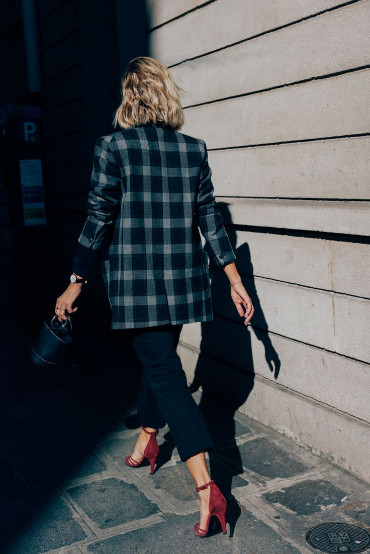 Adenorah on CHRONICLES OF HER #street365. Paris street style shot by Dan Roberts. Wearing Isabel Marant blazer, Levi's jeans and Adenorah x Jonak shoes.