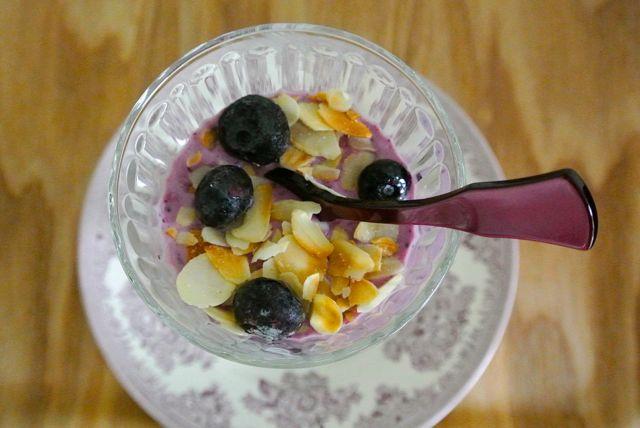 Frozen bessenyoghurt