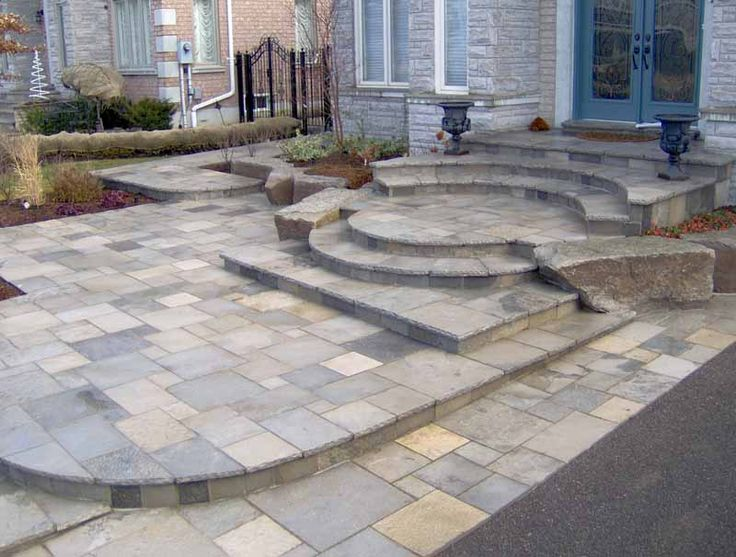 Best Pinterest Patio Steps With Flag Stone Slate Patio 400 x 300