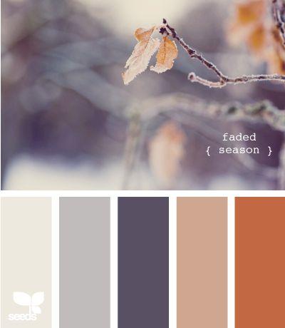 faded season: Color Palettes, Design Seeds, Color Schemes, Living Room, Faded Season, Paint Colors, Master Bedroom, Colour Palette