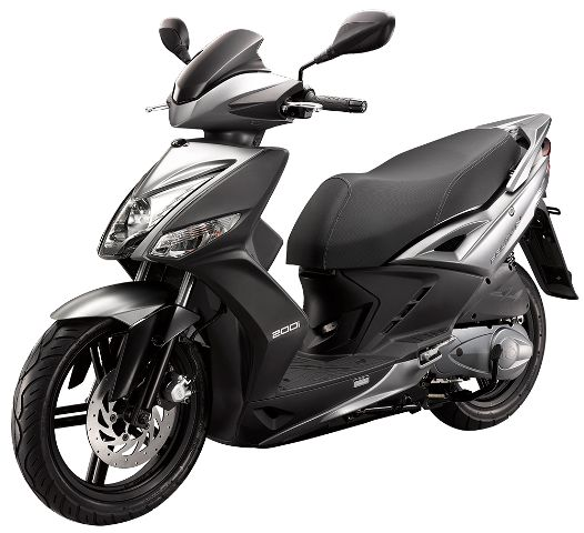 Agility 16+ 25, 45 of 125cc in de kleur Mat Metallic Gray