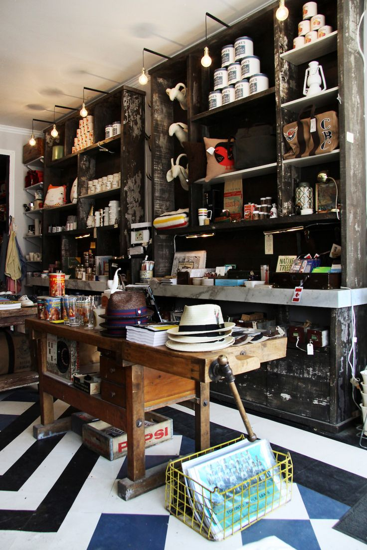Retail VM | Visual Merchandising | Home Adornment | Retail Design | Shop Design | Shelving at the Drake General Store