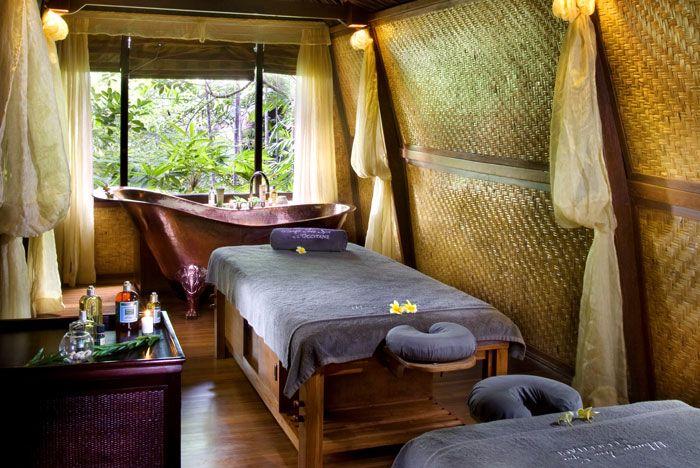 Kupu Barong Villas at Ubud. A marvellous spa.