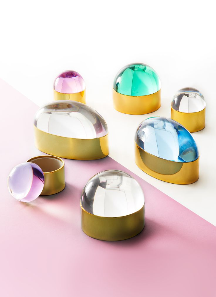The Jonathan Adler Globo Boxes are an intriguing addition to any tabletop, powder room, or cocktail table. Futuristic and celestial in style, they make an out of this world gift.