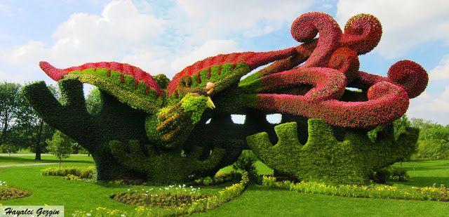 Montreal Botanik Bahçesi / Montreal Botanical Gardens - Hayalci Gezgin - Seyahat Rehberi / Travel Guide