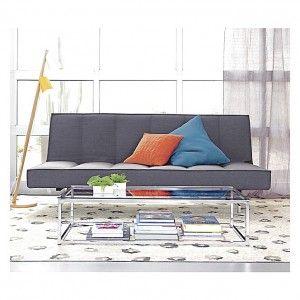 Beautiful Gray Sleeper Sofa Loveseat