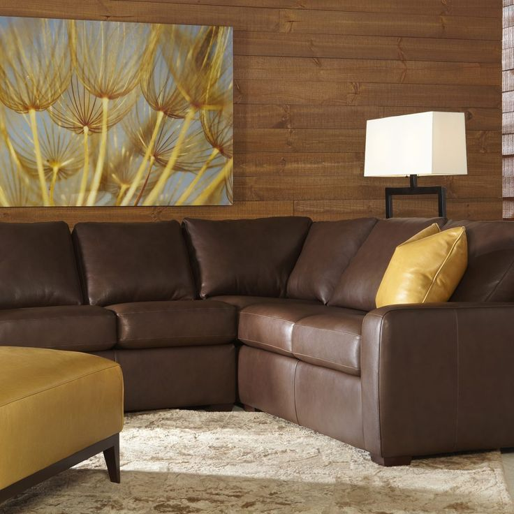 Best 25 Leather Sectional Sofas Ideas On Pinterest