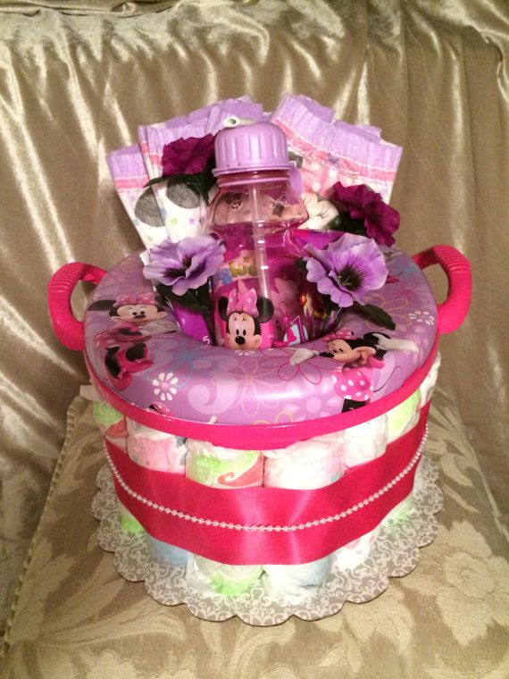 Potty training cake Pull Ups diapers potty by BottomsUpBabyCakes