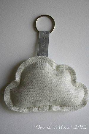 Cloudy Key Ring <3