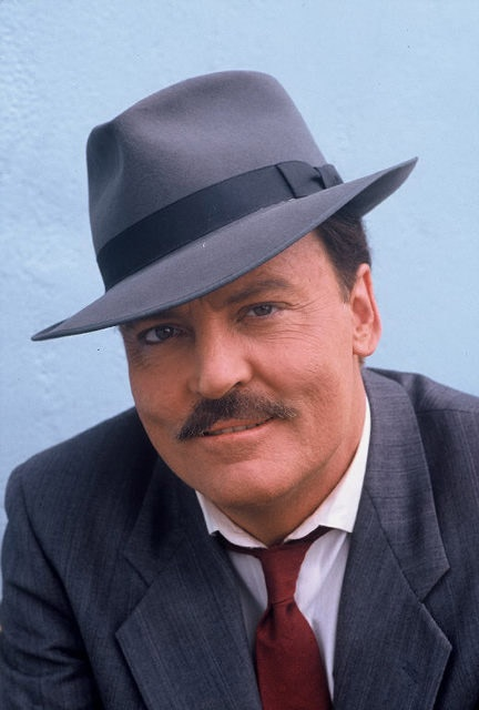 """Walter Stacy Keach, Jr. 1941 - Stacy Keach, one of America's finest Shakespearean actors, was raised Episcopalian. While at the peak of his success in the TV show """"Mike Hammer"""", Keach was arrested in England on drug charges and sentenced to prison. He kicked his drug habit and 2 years later married his 4th wife, a devout Polish Catholic, and converted.He and his wife had a private audience with Pope John Paul II to have their first child blessed. They are practicing Catholics and live in…"""