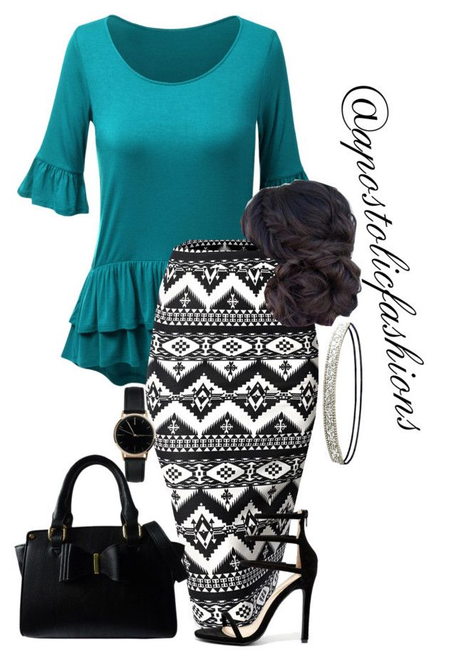 """""""Apostolic Fashions #1728"""" by apostolicfashions on Polyvore featuring WithChic, Liliana, Freedom To Exist, Charlotte Russe and Lipsy"""