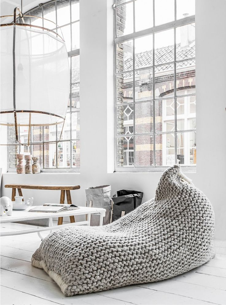 NEST BEAN BAG - Design and form what do you think about this Lunge Chair? could it be part of your living room set? Amazing Living room furniture! For more ideas: http://www.brabbu.com/en/upholstery/