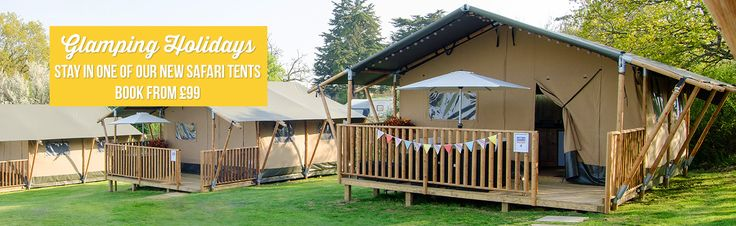 You can now go glamping on the Isle of Wight at Park Resorts Nodes Point & Thorness Bay camping holiday resorts