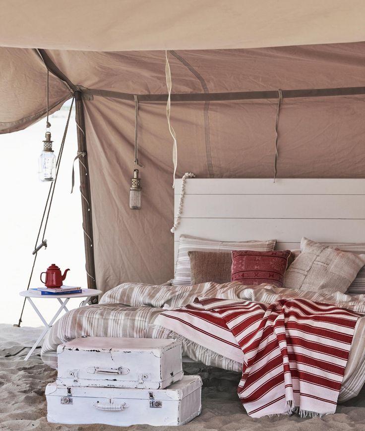 Strandbed | beach bed | vtwonen 08-2016 | photography: Jeroen van der Spek | styling: Cleo Scheulderman