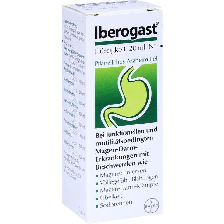 IBEROGAST flüssig: Funktionelle und motilitätsbedingte Magen-Darm-Störungen, Magenentzündung, Magenkrämfe, Darmkrämpfe, Magengeschwür und…
