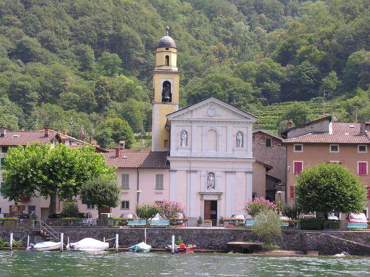 Bissone - Lugano Lake - Switzerland