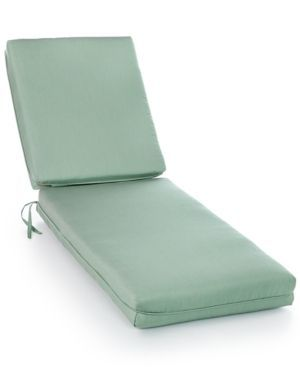 Sunbrella Outdoor Chaise Cushions, Quick Ship - Stanton Brownstone