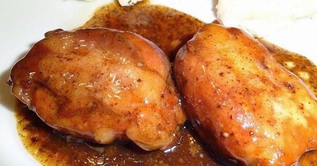 Les plats cuisinés de Esther B: Hauts de cuisses de poulet au sirop d'érable et au vinaigre balsamique (mijoteuse)