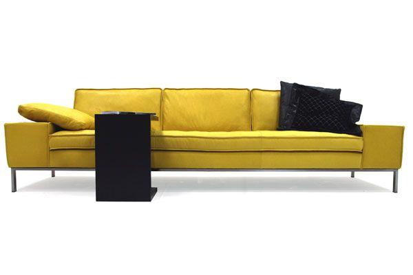 "Lederland Amsterdam | Leren designbank ""Almond"""