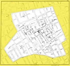 Documents that Changed the World podcasts: John Snow's cholera map, 1854 | UW Today