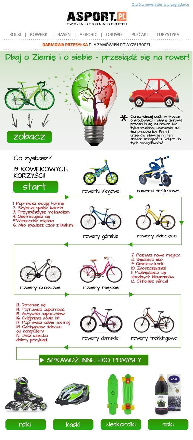 Dbaj o ziemię/ take care of the earth #earthday #dzienziemi #bicycle #rowery #newsletter #graphicdesign