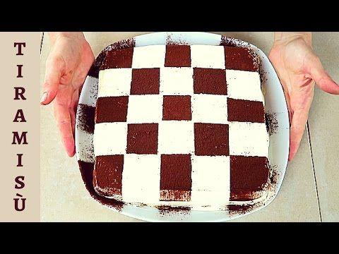 TORTA TIRAMISU' ALLE FRAGOLE RICETTA FACILE - Homemade Strawberry Tiramisù Cake Recipe - YouTube