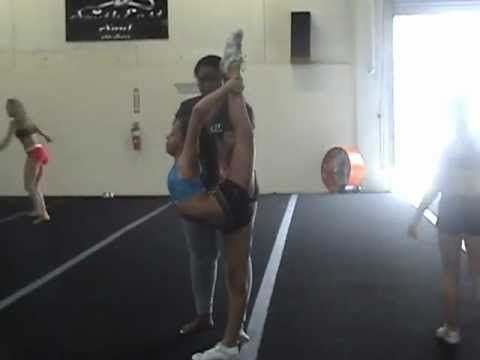 My Needle Cheerleading Training