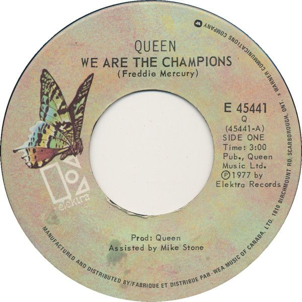 Find A Queen We Are The Champions First Pressing Or Reissue Complete Your Queen Collection Shop Vin We Are The Champions Songs To Sing Good Music