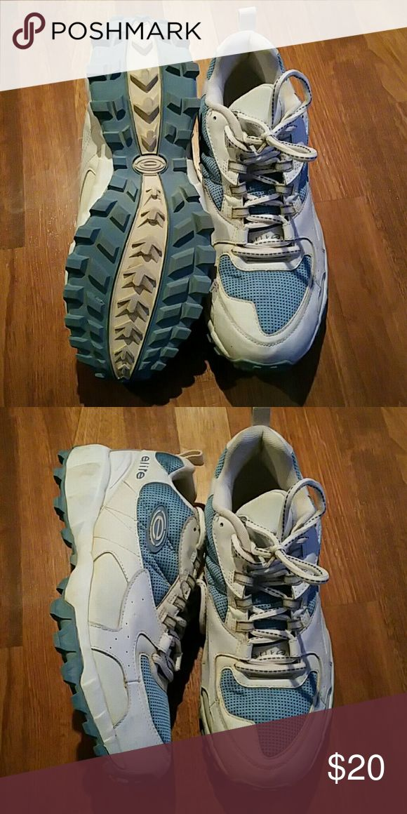 Elite softball shoes Baby blue and white. Elite Shoes Athletic Shoes