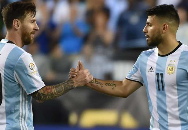 Aguero likely to follow suit if Messi sticks to retirement call - father