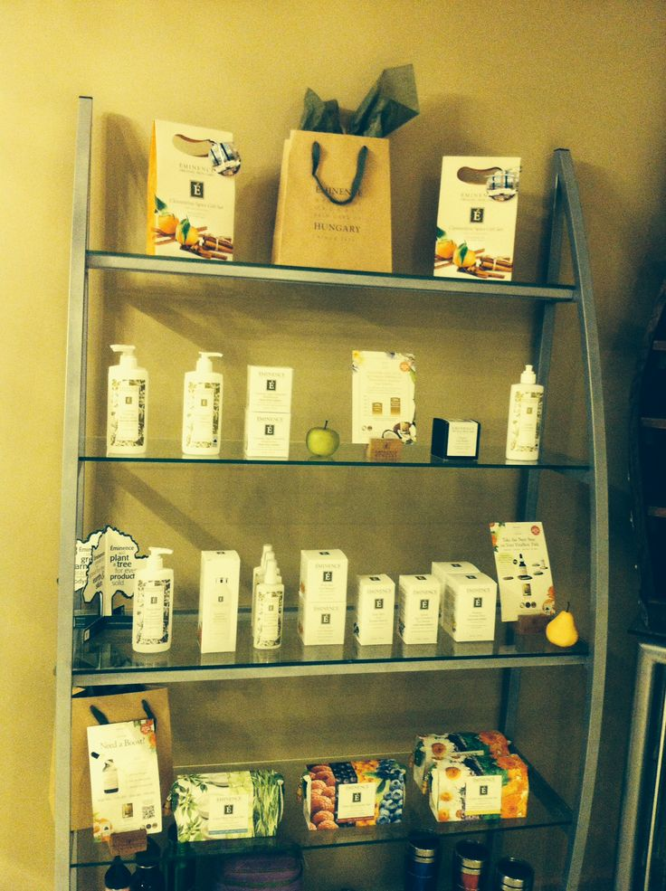 Eminence facial products galore at Bodisense Spa Boutique