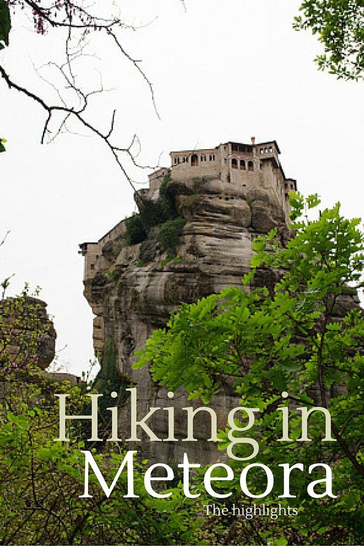 Hiking in Meteora, Greece