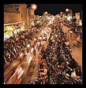 Bikers take over a little Sturgis, SD