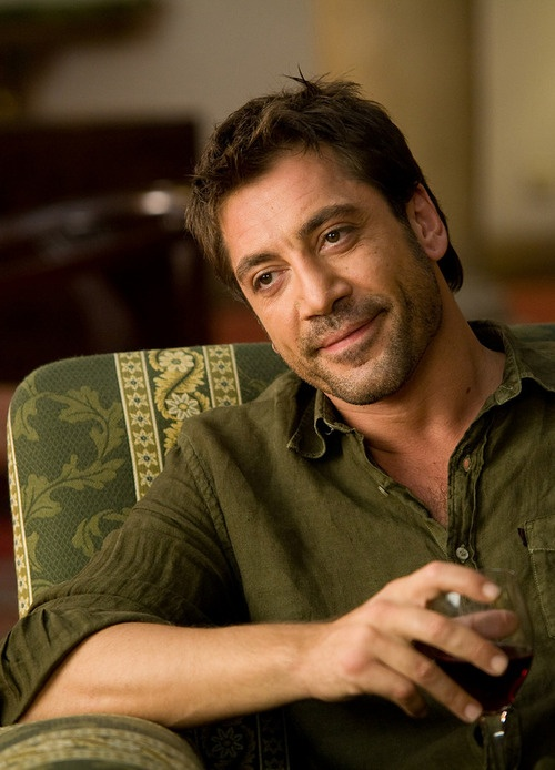 Javier Bardem in Vicky Cristina Barcelona - oh heavens...I think my heart skipped a beat!