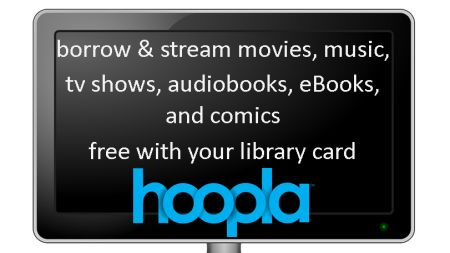 Hoopla offers almost 150,000 titles available to stream instantly ranging from movies, full-length music-albums, television episodes, eBooks, comic books, and audiobooks.