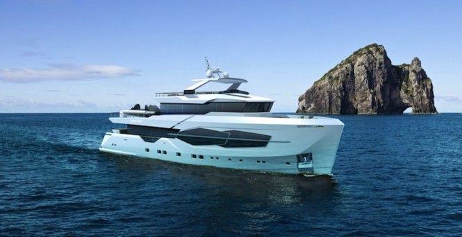New Numarine 32XP Explorer Yacht Series Under Construction