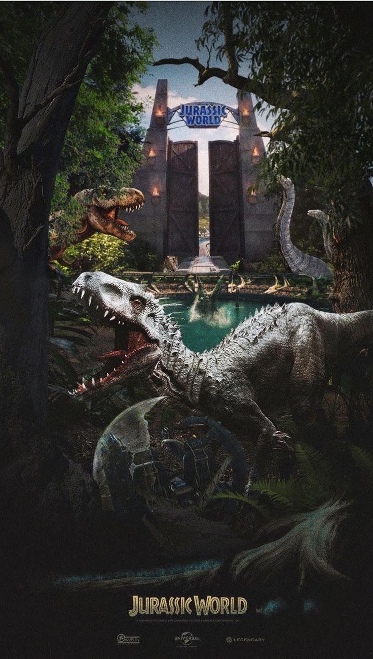 Les 11 meilleures images du tableau jurassic park sur pinterest posters de films dinosaures - Film de dinosaure jurassic park ...