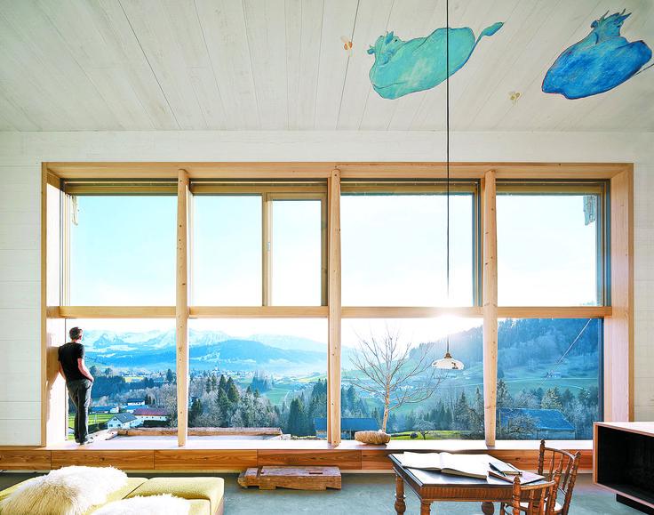 Holzskelettbau architektur  18 besten Holzbau Vorarlberg Bilder auf Pinterest | Holzbau ...