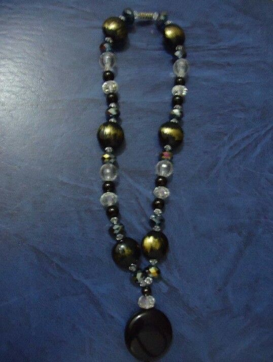 Choker Bead Necklace by Olivia Martinez-Sturges
