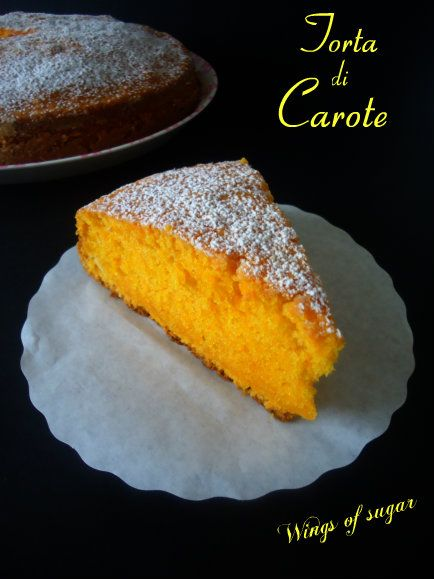 Torta di carote - wings of sugar blog