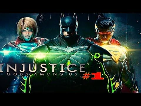Injustice: Gods Among Us - БЭТМЕН VS БЭТМЕН #1 Мультик Игра Файтинг НАЧАЛО