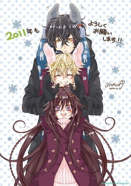 Tags: Anime, Fanart, SQUARE ENIX, Pandora Hearts, Gilbert Nightray