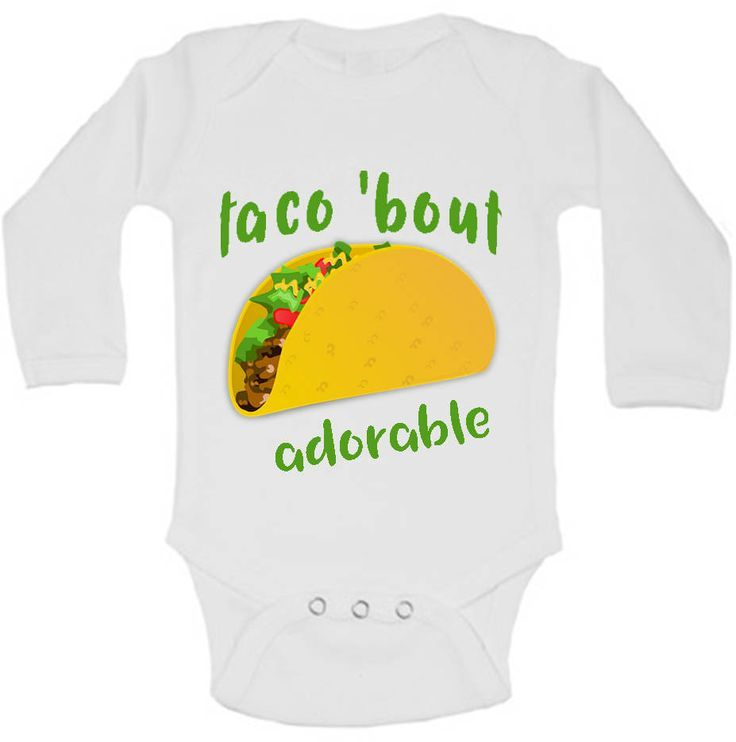 Taco Bout A Baby, Taco Baby Shower, Taco Shirt, Hipster Baby Clothes, Hipster Baby Boy, Hipster Baby Girl, Gender Neutral Baby Clothes by AdelynRoseBoutique on Etsy https://presentbaby.com