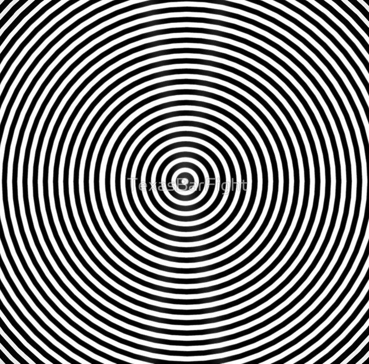 Hypnotic Circles - Optical Illusion