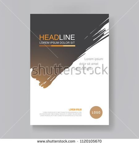 annual report design template book cover flyer brochure magazine